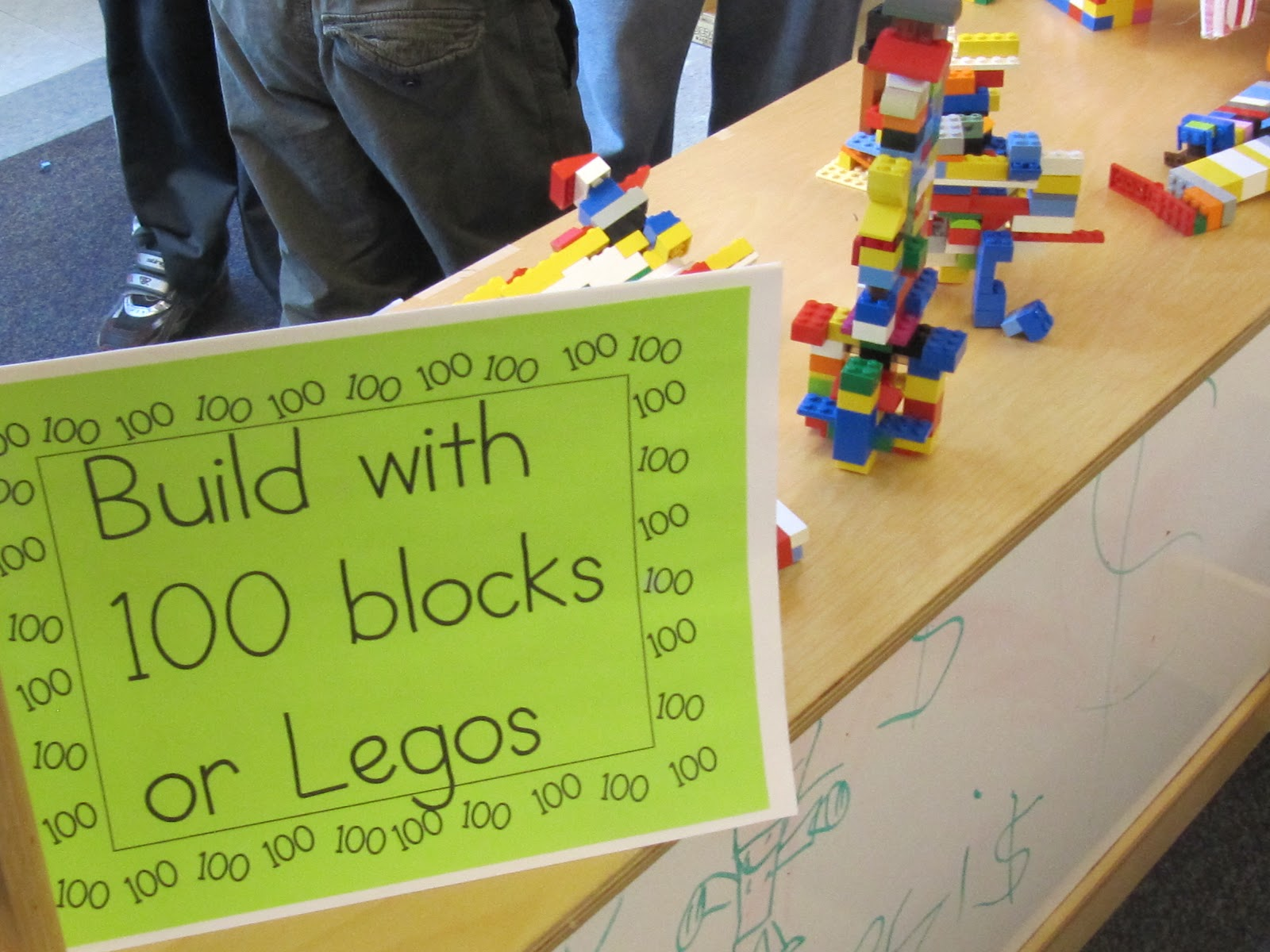 100 lego build makerspace